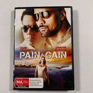 Pain and Gain (DVD 2013) Dwayne Johnson, Mark Wahlberg Region 4