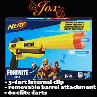Nerf Fortnite SP-L Blaster with Detachable Barrel and 6 Fortnite Elite Darts