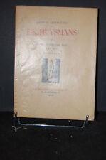 """OEUVRES COMPLETES DE J.K.HUYSMANS """"Marthe histoire d'une fille"""" TII, 1928"""