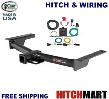 FITS 2015-2019 FORD TRANSIT 150, 250  CLASS 3 CURT TRAILER HITCH & WIRING  13193