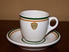Syracuse demitasse cup OCC or COO logo Railroad Restaurant Hotel ware shield