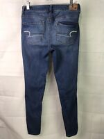 American Eagle Women's Super Stretch Jegging Blue Jean Size 8 Long x 31L