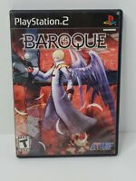Baroque (Sony PlayStation 2, 2008) Atlus Complete Tested