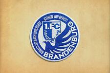 Aufnäher 1. FC Magdeburg  FCM-Fans Brandenburg Ultras
