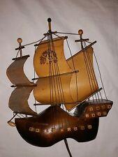 The Flying Dutchman - Vintage Ship Lamp - Belgium Clog