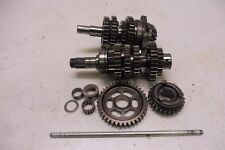 1984 Honda CB700 SC Nighthawk HM663B. Engine transmission gears set