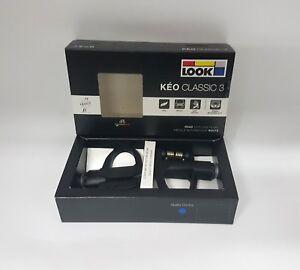 Look Keo Classic 3 9/16 X 20 mm Chromoly Alex Road Clipless Pedal Black #0001426