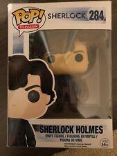 Sherlock Holmes Funko Pop Vinyl Figure #284 BBC Pop Television Brand New In Box