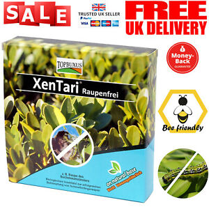 TOPBUXUS XenTari - Against Boxwood Moth Caterpillar Professional Dosage NEW