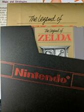 The Legend of Zelda 1 Original Nintendo NES Complete in Box CIB Grey Cartridge