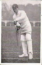 Cricket. England & Middlesex. J.W.Hearne.