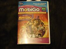 Vtech MobiGo Learning Software Cartridge Madagascar 3 Math Vocabulary 4-7 New