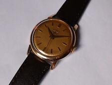 Alte Herren ⌚ ROAMER vergoldet 33mm 50er 60er Vintage Handaufzug Swiss Uhr