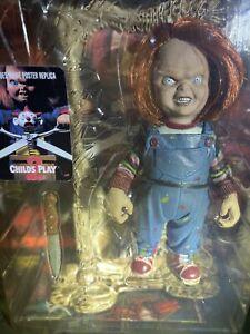 "McFarlane Toys Movie Maniacs 2 Child's Play 2 ""Chucky"" w/Mini Movie Poster 1999"