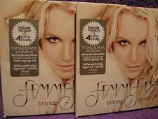 BRITNEY SPEARS -Femme Fatale-CD- RECEIVE 2 CD's - Deluxe Version- NEW-FREE POST