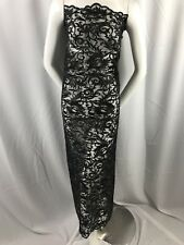 Guipure Lace - Black Mesh Dress Top Bridal Wedding Decorations By The Yard