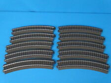 Marklin 24130  Curved Track R1 = 360 mm.  30 d.  SET OF 10 PCS.  C Track