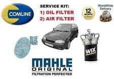 Per SUZUKI SWIFT 1.3 Coupé 1990 -1992 Nuovo Olio Filtro Aria Kit di servizio
