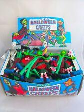 Vintage Caja de 48 monstruos Bendy Vampiro Momia Esqueleto Halloween Horror Toys
