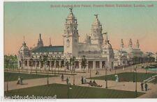 Franco British Exhibition, British Applied Arts Palace Postcard, B441