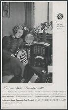 SABA Radio Superhet 520 HiFi Rundfunk Dame Art Deco August Schwer Villingen 1933