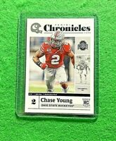 CHASE YOUNG CHRONICLES ROOKIE CARD REDSKINS 2020 PANINI CHRONICLES DRAFT PICKS