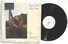PATRICK BALL: Celtic Harp / Music Of Turlough O'Carolan LP FORTUNA SU 1983 NM+