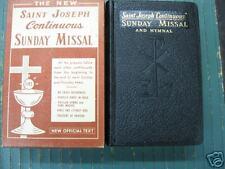 SAINT JOSEPH CONTINUOUS SUNDAY MISSAL-1966-NR/MINT
