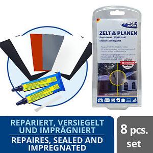 123Repair Zelt Reparaturset - Flicken, Kleber für Camping, Schlauchboot, Markise