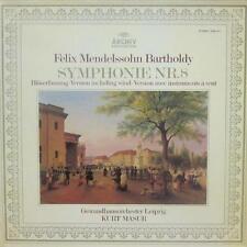 Mendelssohn (VINYL LP GATEFOLD) Symphonie Nr.8 - ARCHIVE - 2533 311-Allemagne-VG +/Presque comme neuf