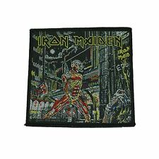 Iron Maiden Somewhere In Time Woven Patch Official Merchandise