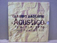 Claudio Baglioni - Acustico. Sogno Di Una Notte Di Note - 3 LP - SONY 2000