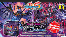 Future Card Buddyfight Hollow Black Dragon BFE-D-SD03 Starter Deck English