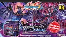 Future Card Buddyfight Hollow Black Dragon BFE-D-SD03 Starter Deck English