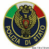 Patch toppa polizia di stato italia esercito carabinieri polizia police italian