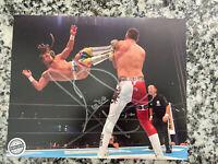 Pro Wrestling Crate Juice Robinson Signed 8x10 NJPW NXT WWE