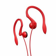 PIONEER SE-E511-R STEREO SPORTS HEADPHONES RED