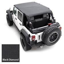 Smittybilt Extended Top for Jeep Wrangler JK 2007-09 4 door Black Diamond 94535
