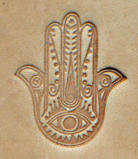 Hand Of Fatima Craftool 3-D Stamp Tandy Leather 8590-00