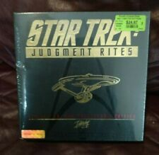 Star Trek Judgement Rites (1995) CD-ROM Collector Edition BIG BOX PC NEW SEALED!