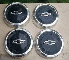 """Set of 4 83-96 Chevy S10 Pickup Truck Astro Van 10.5"""" Dog Dish Hubcaps 14035559"""
