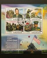 Togo 2015 / The 70th Anniversary of the Battle of Iwo Jima / s/s CTO