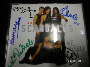 Scandalus Me, Myself & I signed Autographed CD