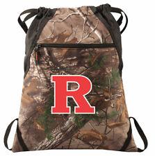 RU Camo Cinch Pack REALTREE Rutgers University Drawstring Bag Backpack