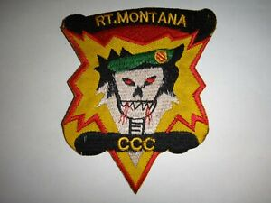US 5th Special Forces Group MACV-SOG RT MONTANA CCC Vietnam War Patch