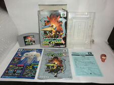 STAR FOX 64-starwing 64  Nintendo 64,N64 CIB 100% version japonaise