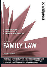Law Express: Family Law (Revision Guide) by Herring, Jonathan Paperback Book The