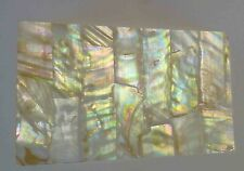 Colorful Mother of Pearl Shell INLAY Real Shell Thin Sheet Veneer Overlay