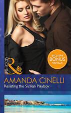 Good, Resisting The Sicilian Playboy (Modern), Cinelli, Amanda, Book