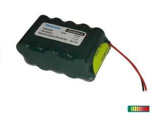 Überladefeste Akkupack für Tür-Fensterantriebe, Alarm, Panasonic 12V700mAh...